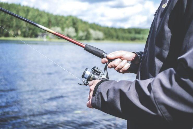 spinning rod fishing