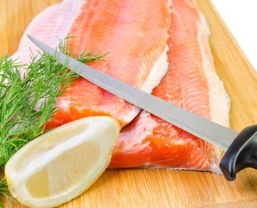 salmon fillet knife