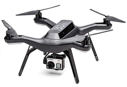 3dr solo quadcopter fishing drone