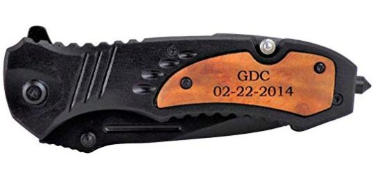tac-force engraved pocket knife