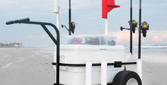 beach fishing carts