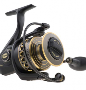penn battle II spinning surf fishing reel