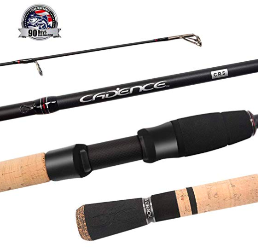 cadence bass spinning rod