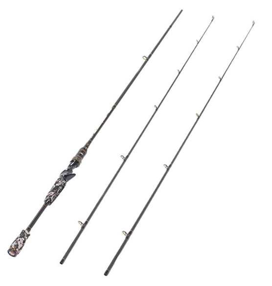 entsport camo legend bass casting rod