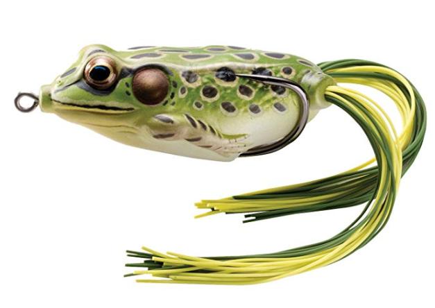 livetarget hollow body bass frog
