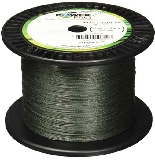 power pro spectra fiber braided surf fishing line