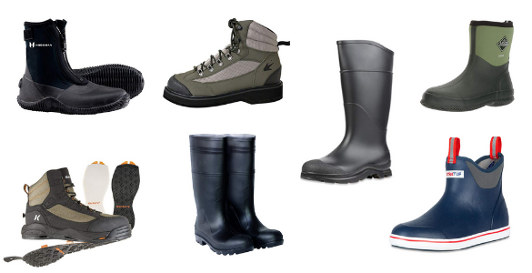 best fishing shoes and boots