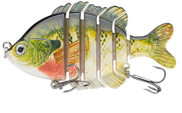 bassdash multi-jointed swimbait for bass