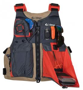 onyxm kayak fishing life jacket vest