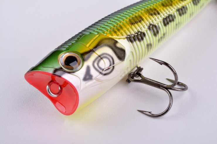 popper lures for bass