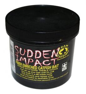 team catfish sudden impact bait jar