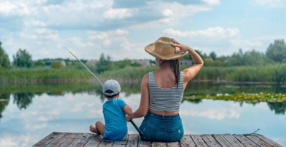 kids fishing pole