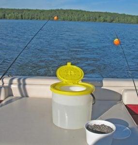 bait bucket for minnows