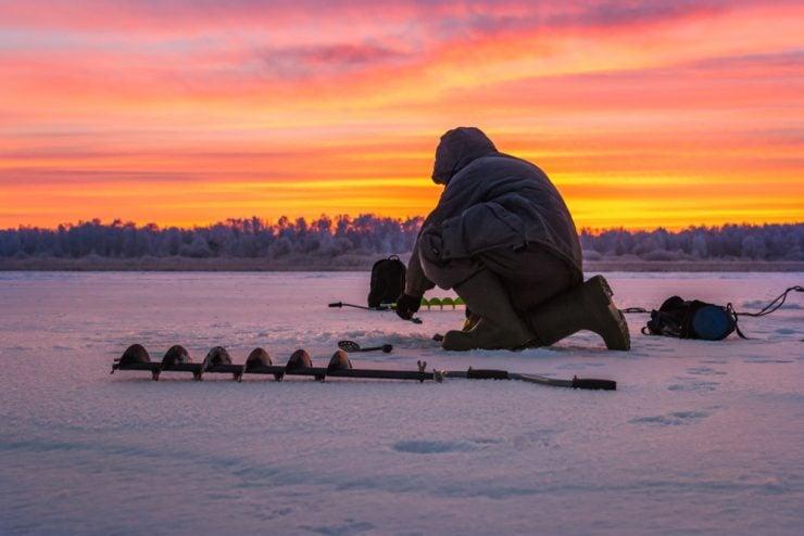 ice fishing wisconsin