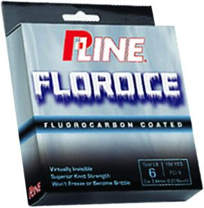 P-Line Fluoroice Clear Fishing Line