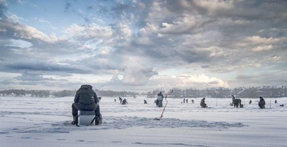 ice fishing ohio