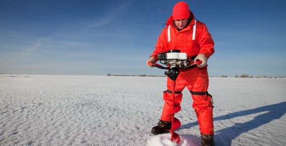 ice auger drill