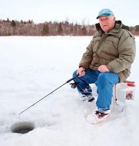 ice fishing buckets
