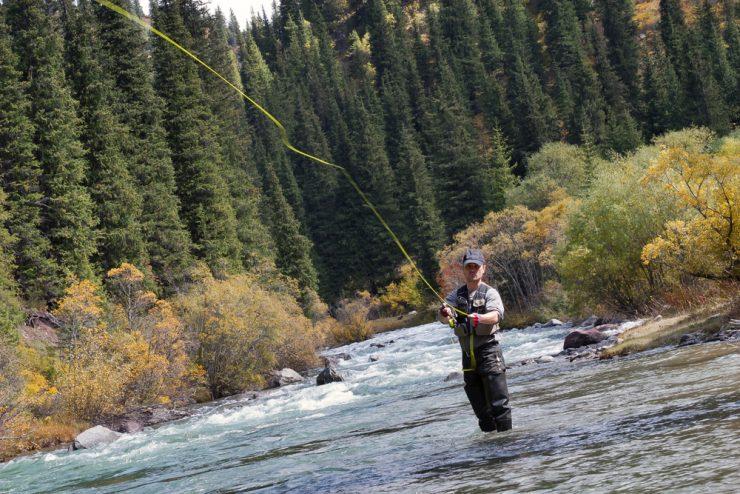 fly fishing waders