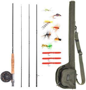 Lixada Fly Fishing Rod and Reel Combo