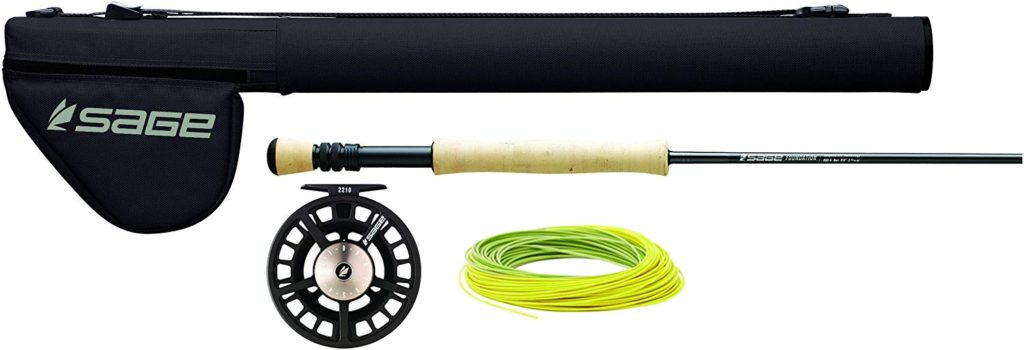 Sage Fly Fishing - FOUNDATION Outfit - Fly Rod, Reel & Line Combo