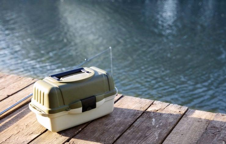 cheap plastic tackle box