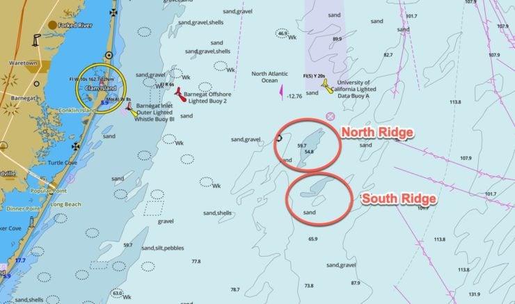 Barnegat Ridge GPS Coordinates