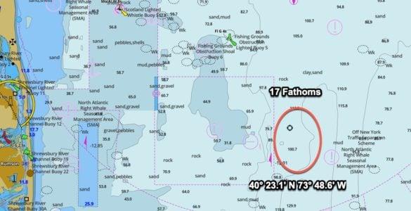17 fathoms gps coordinates