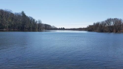 fishing at Cassadaga Lake