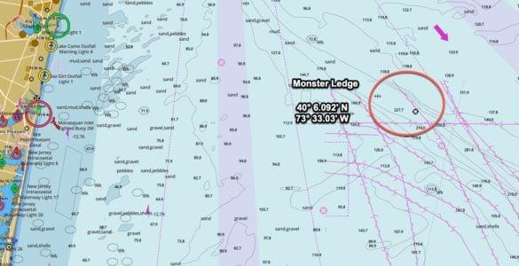 Monster Ledge GPS Coordinates