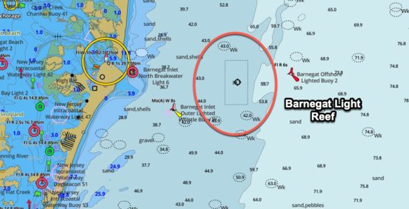 barnegat light reef gps coordinates