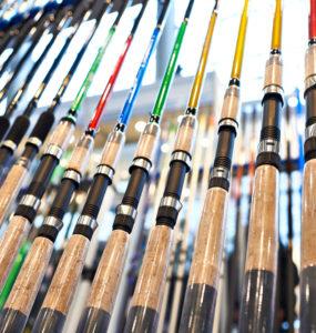 graphite fishing rods