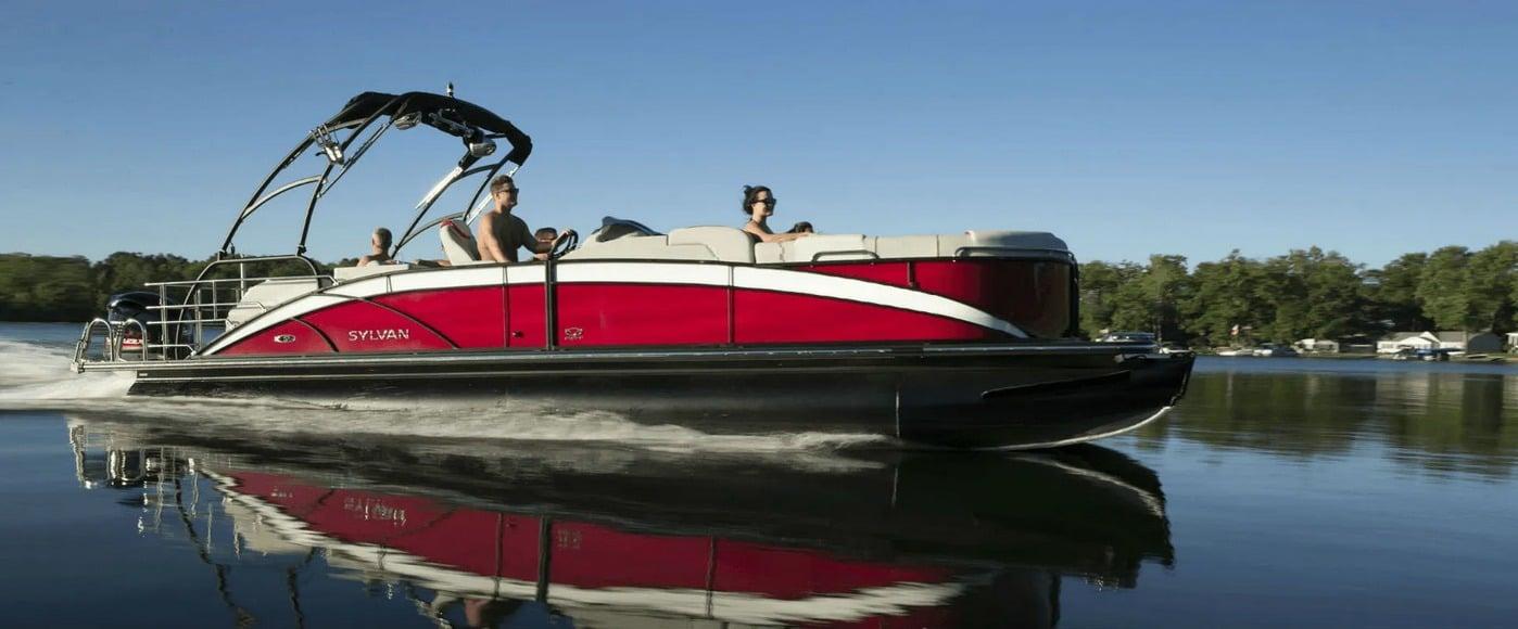pine crest marina pontoon boat