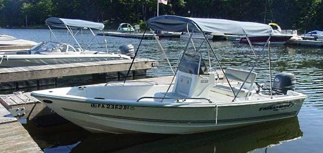 pocono action sports fishing boat