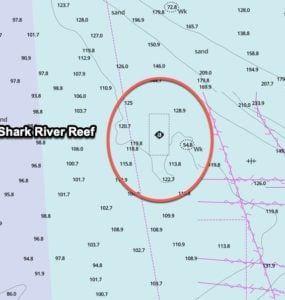 shark river reef gps coordinates