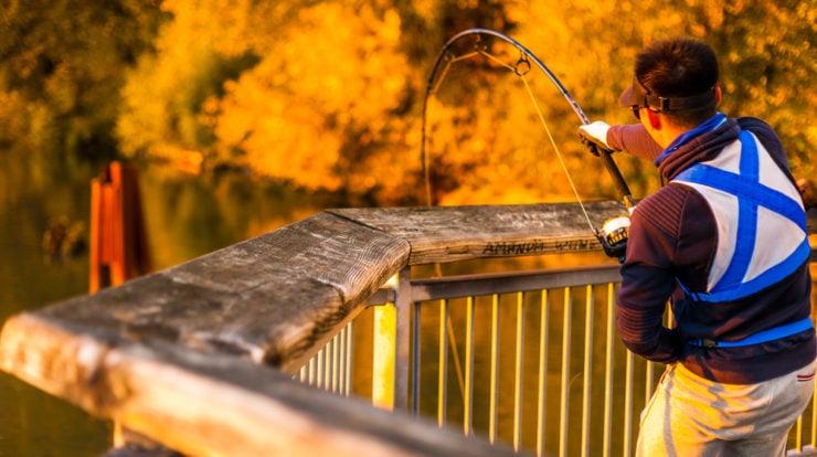 amazing sunset river fishing in lebanon county pa