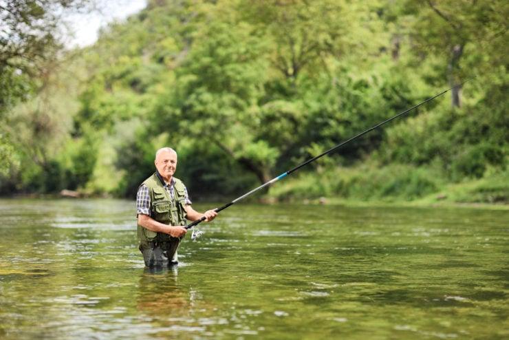 happy man river fishing in jefferson county pa