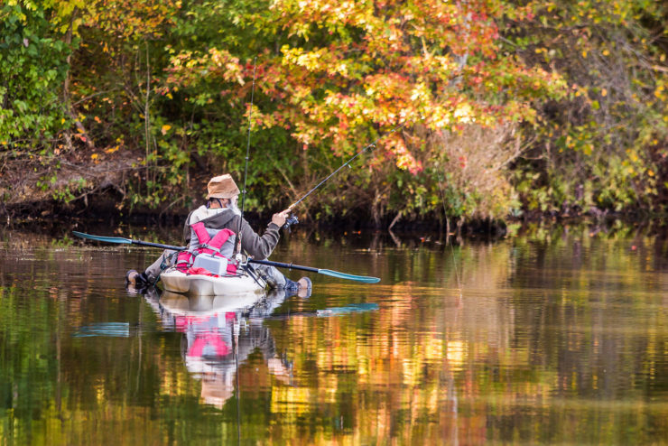 kayak fishing in greene county pa