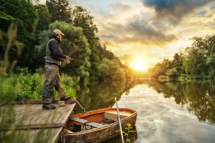 riverside fishing in erie county pa