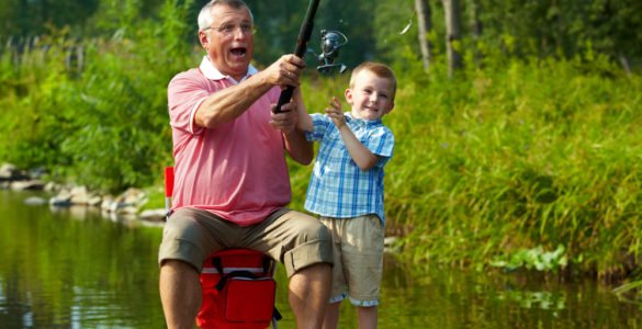 wholesome family fishing in lamar county al
