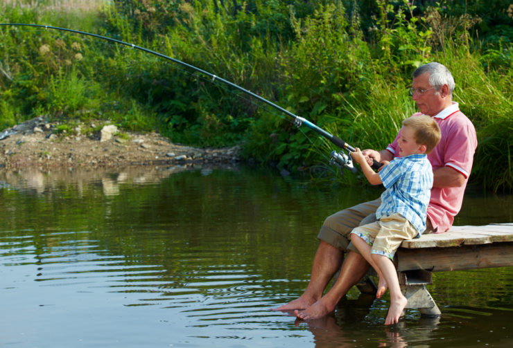 wholesome family fishing in luzerne county pa