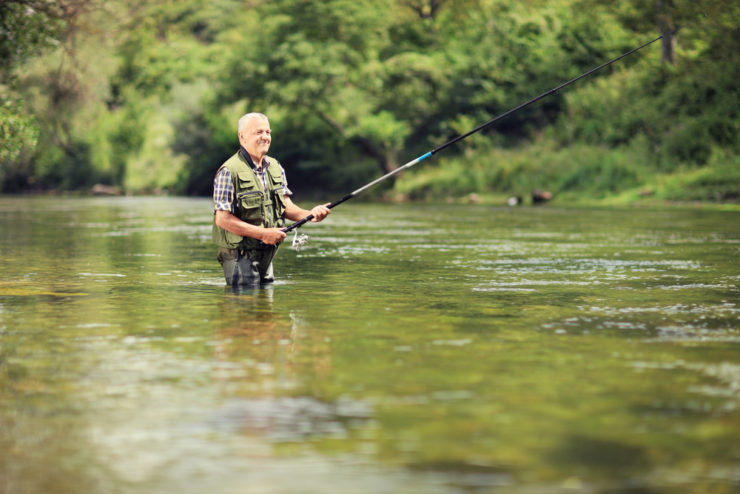 wholesome river fishing in blair county pa