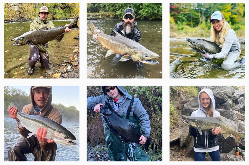 salmon river fishing photos