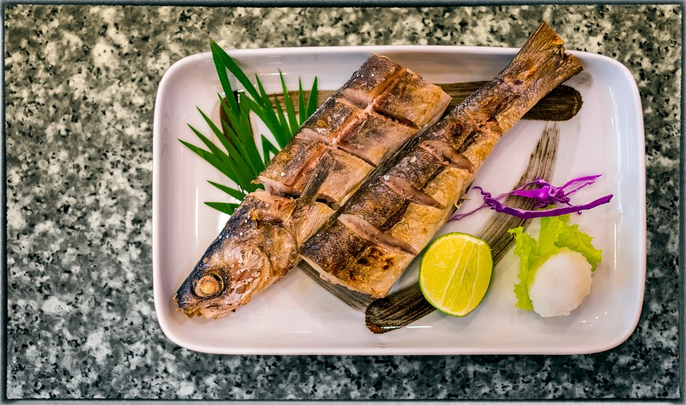grilled barracuda