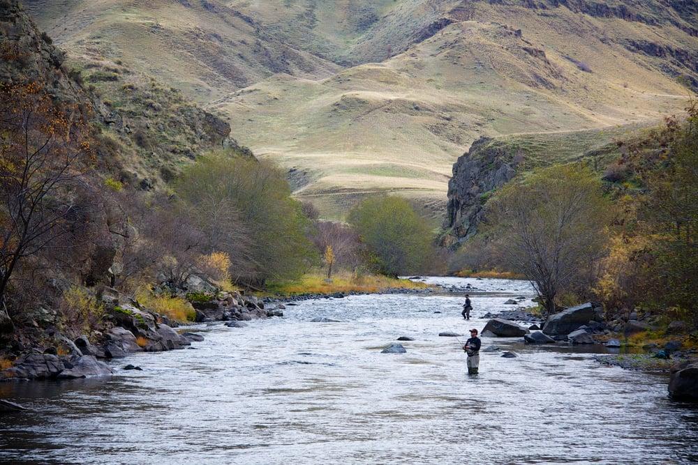 Imnaha River steelhead fishing in eastern Oregon
