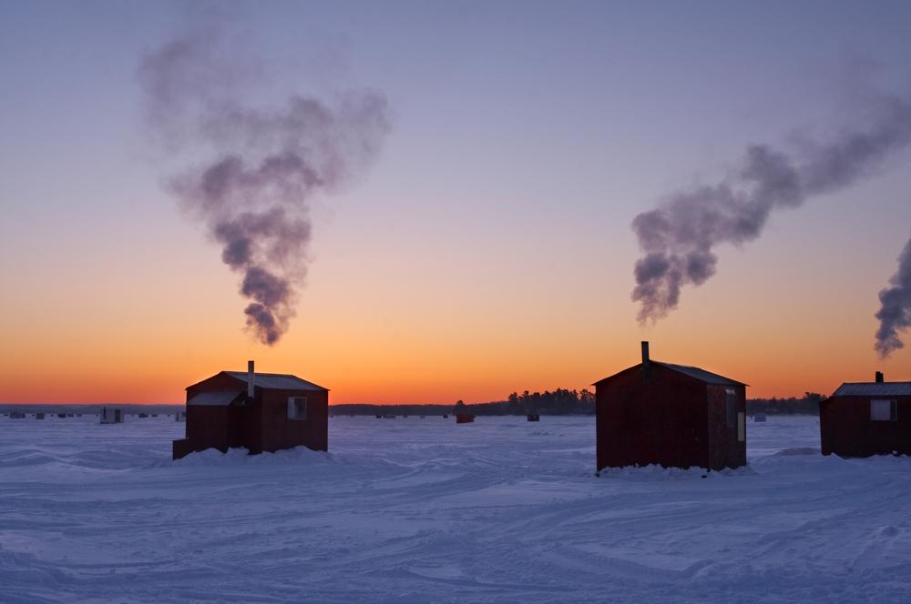 ice house rentals