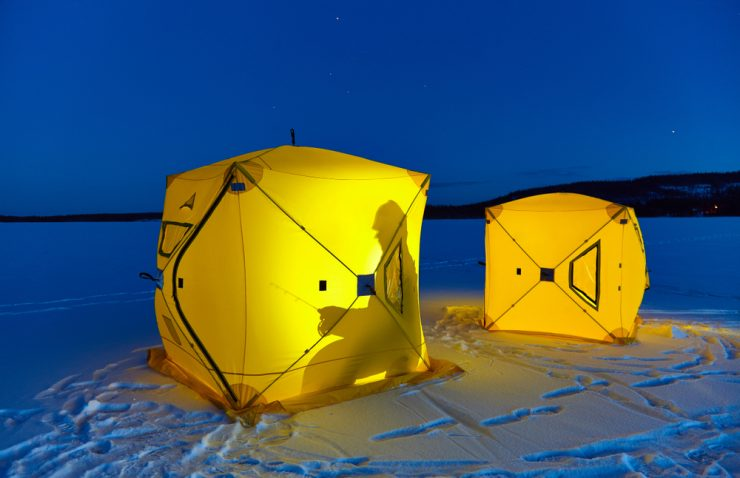 ice shelter night lights