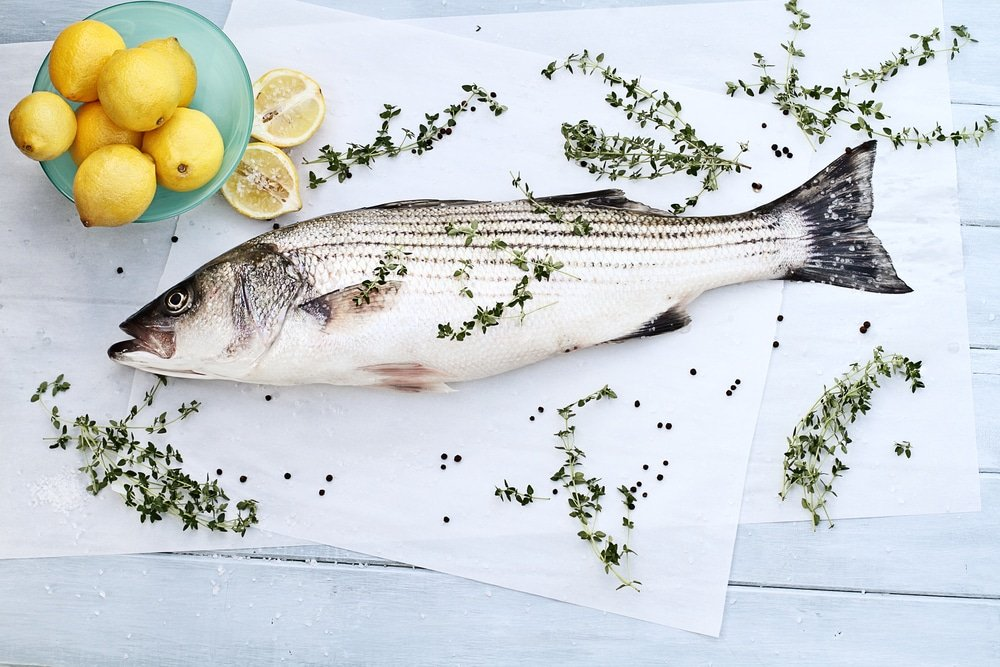 striped bass recipe