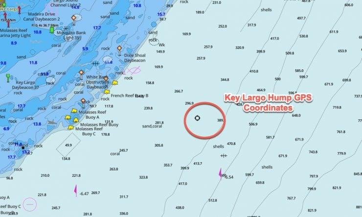 Key Largo Hump GPS Coordinates