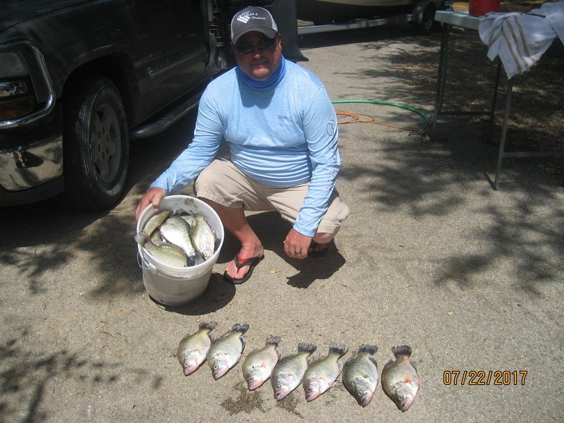 bennys crappie guide service